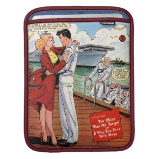 Navy Romance iPad Sleeves
