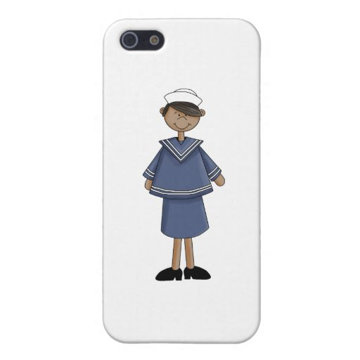 navy_sailor_girl iPhone 5 carcasas