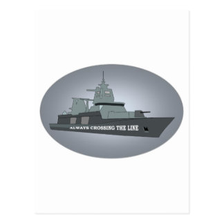 NAVY SEA POWER POSTCARD