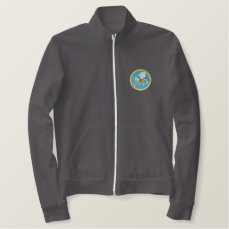 Navy Seabee Embroidered Jacket