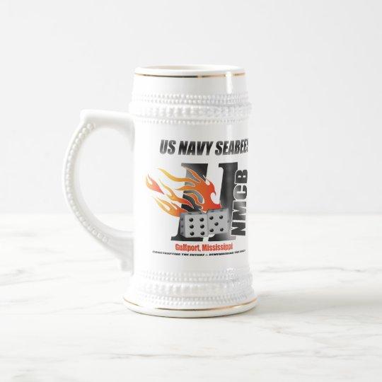 Navy Seabees Stein