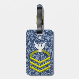 Navy Senior Chief Petty Officer Luggage Tag