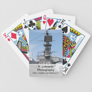 Navy Ship Bicycle Playing Cards