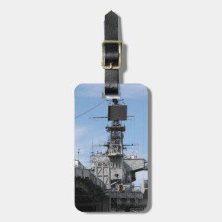 Navy Ship Luggage Tag