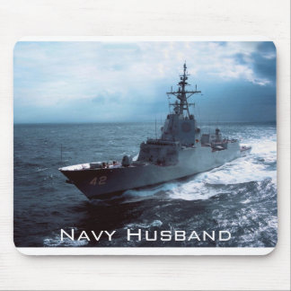 Navy Ship Mouse Pad