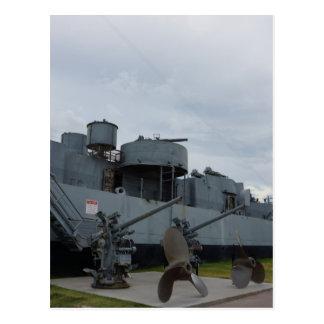 Navy Ship Postcard