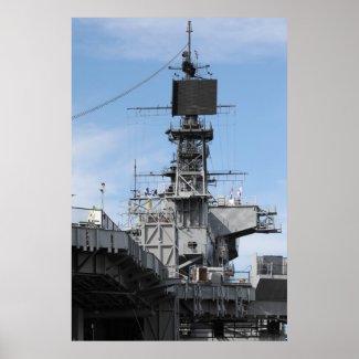 Navy Ship Poster