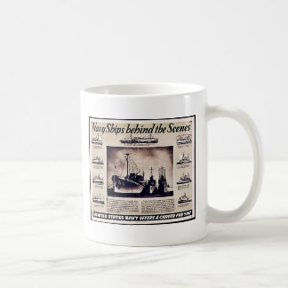 Navy Ships Behind The Scenes Mugs