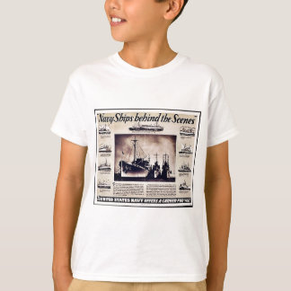 Navy Ships Behind The Scenes T-Shirt