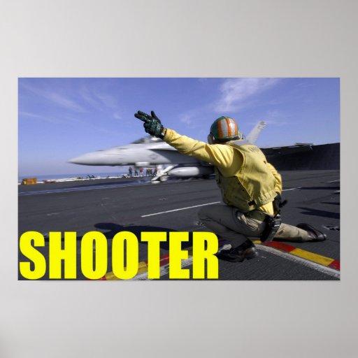 Navy Shooter Print