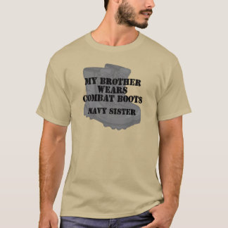 Navy Sister Brother CB T-Shirt