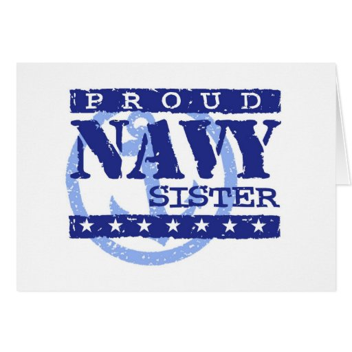 Navy Sister Cards