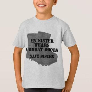 Navy SIster CB T-Shirt
