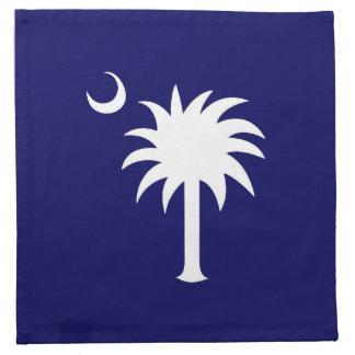 Navy South Carolina Palmetto Tree Napkins