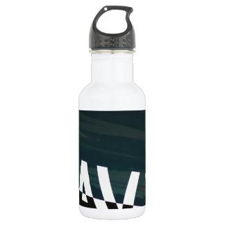 Navy Stainless Steel Water Bottle