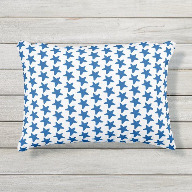 Navy Star Pattern - Patriotic / 4th of July Party