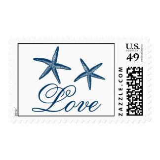 Navy Starfish Love Stamp