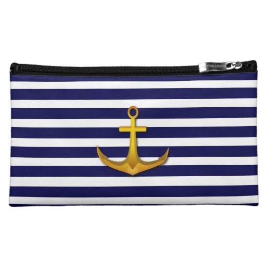 Navy Stripes Bagettes Bag