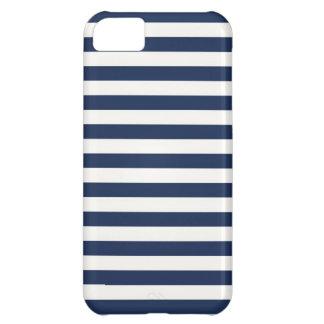 Navy Stripes iPhone 5C Cases