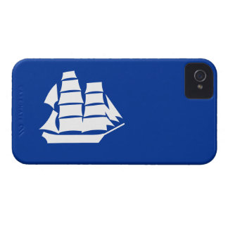 Navy tall ship on iPhone 4 Case-Mate iPhone 4 Case