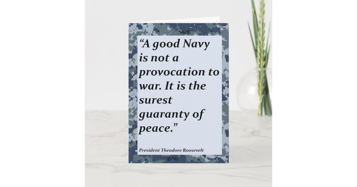 Navy Thank You For Your Service Card Zazzle Com