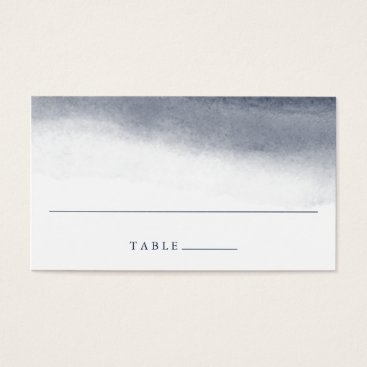 Beach Themed Navy Tides Wedding Escort Place Cards