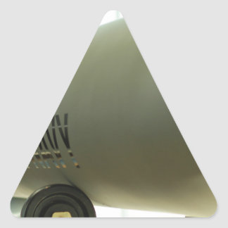 Navy Triangle Sticker
