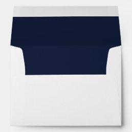 Navy Trim - Envelope