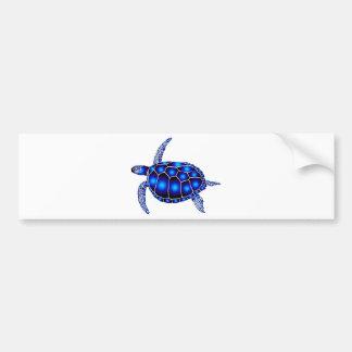 navy turtle of sea turtle ocean bumper sticker
