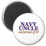 Navy Uncle and Proud of It Fridge Magnets