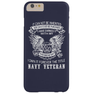 NAVY VETERAN BARELY THERE iPhone 6 PLUS CASE