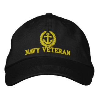 Navy Veteran sailors anchor motif Baseball Cap