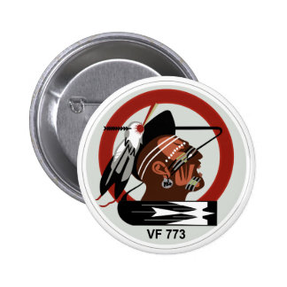navy vf-773 aviation reserve fighter squadron pinback button