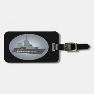 NAVY WARSHIP TAG FOR LUGGAGE