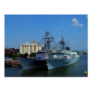 Navy Week Postcard