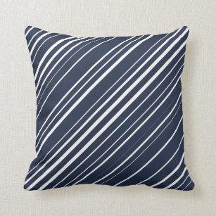 Modern Diagonal Stripe Pattern Pillows Decorative