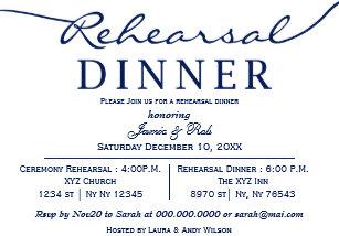 rehearsal dinner invitations zazzle