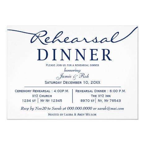Dinner Invite