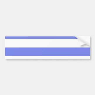 Navy white light blue bumper sticker