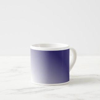 Navy White Ombre Espresso Cup