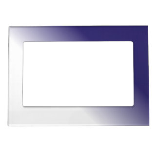 Navy White Ombre Magnetic Photo Frame