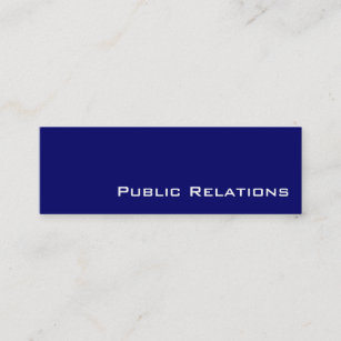 Public relations business cards templates zazzle navy white public relations business cards colourmoves