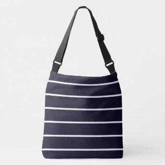 Navy-White-Stripes-Totes-Shoulder-Bags-Multi Crossbody Bag