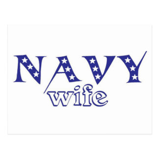 Navy Wife 2 Postcard