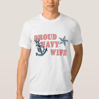 navy wife anchor T-Shirt