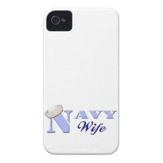 Navy Wife Blackberry Bold Case