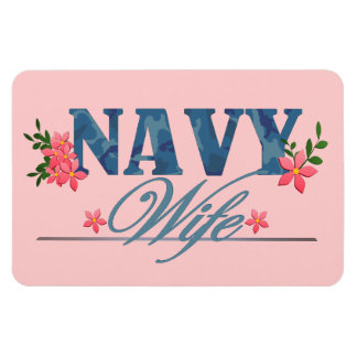 Navy Wife (Cammo) Magnet
