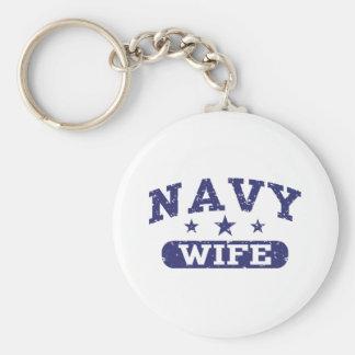 Navy Wife Keychains