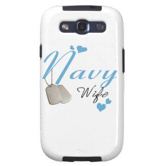 Navy Wife Samsung Galaxy S Case Galaxy SIII Cases