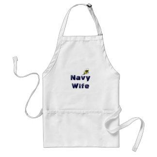 Navy Wife Seabee Apron